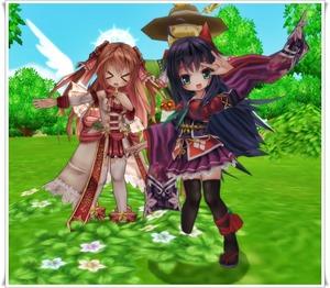 清姫とステラ