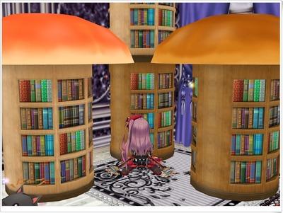 きのこの本棚(傘有・ライトブラウンとダークブラウン)