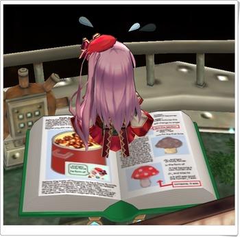 きのこシチューのレシピ本(騎乗)
