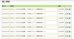 炉悪苦餌スペシャルで6万円