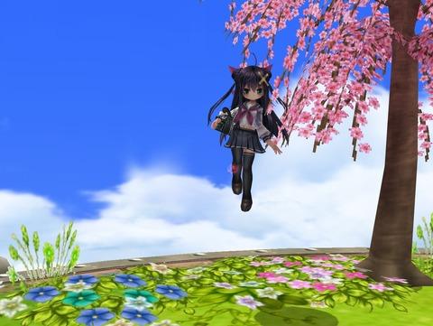 清姫スクリーンセイバーっぽいなにか