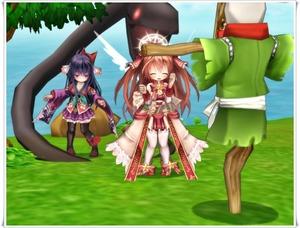 清姫攻撃モーションその2