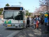 岩本山バス停1