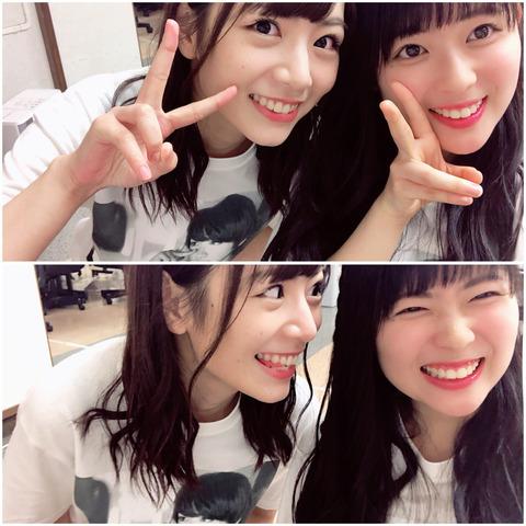 【乃木坂46】岩本蓮加 ブログ更新『きぃちゃんとのツーショット』なんて良い顔するんだこの二人www