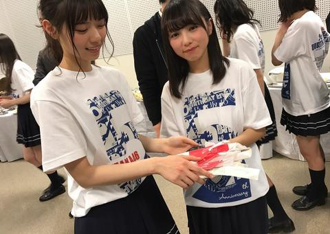 【乃木坂46】西野七瀬×与田祐希の姉妹感『5thBDL楽屋』での2ショット画像を公開!