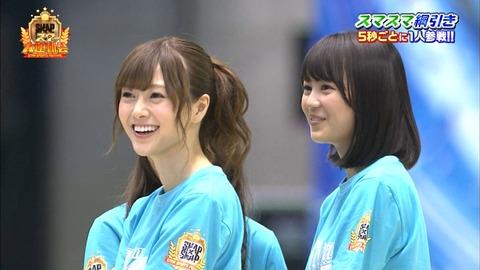 【乃木坂46】『SMAP×SMAP大運動会』チーム乃木坂(チーム稲垣吾郎)優勝!みんな頑張ったw