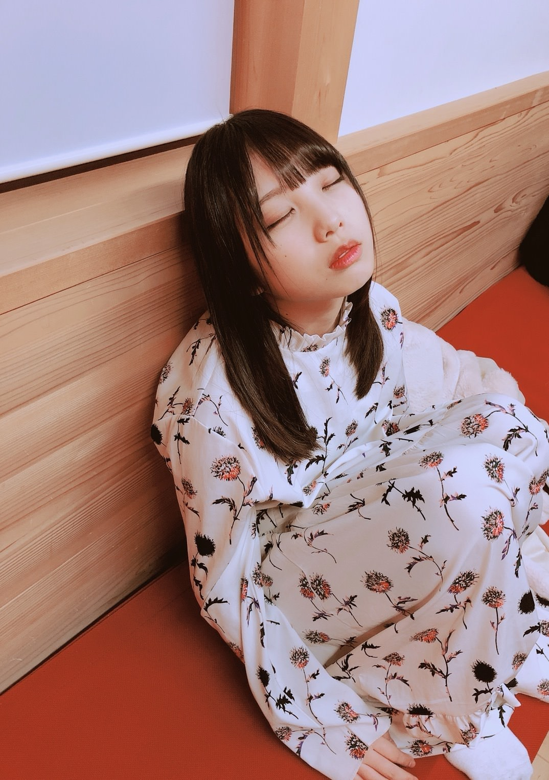 乃木坂46】与田ちゃんまた寝顔撮られてる。。。なんだこの可愛