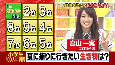 【乃木坂46】『くりぃむクイズ ミラクル9』に高山率いるチーム乃木坂でいつか出て欲しい