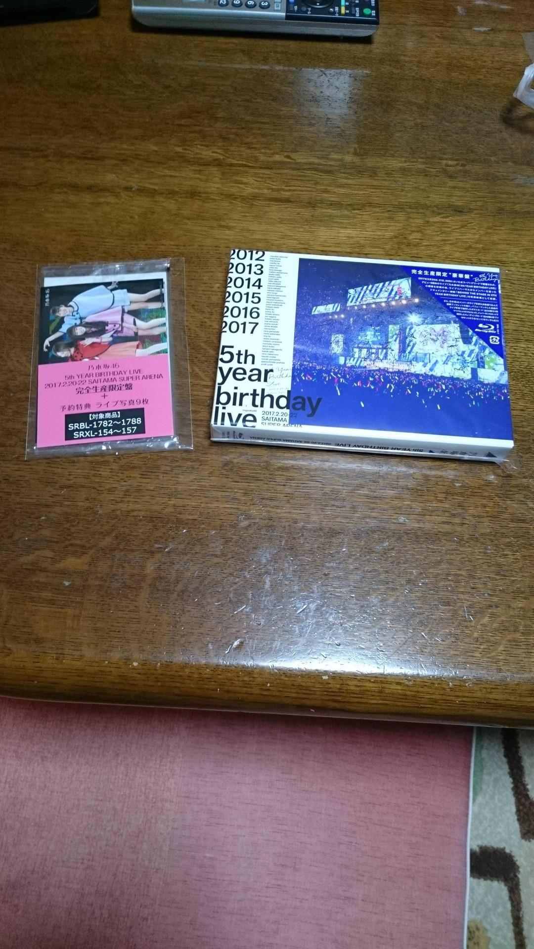 【エンタメ画像】【乃木坂46】『5th YEAR BIRTHDAY LIVE BD/DVD』フラゲ祭りを開催!!