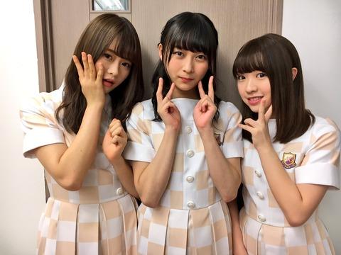 【乃木坂46】9/28『生のアイドルが好き』のゲストスリーショットがカワイイ!!