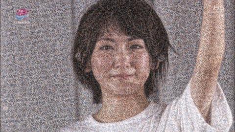 【乃木坂46】ファンが作った『生駒モザイクアート』がすごいと話題に。
