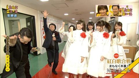 【乃木坂46】 乃木坂46×バナナマン NHK『しあわせニュース』に登場!白い衣装も可愛すぎー