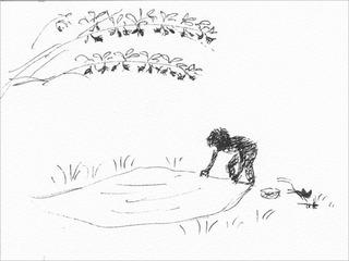 桑の実採り (4)