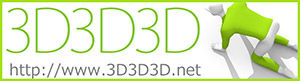 3D3D3Dロゴ3