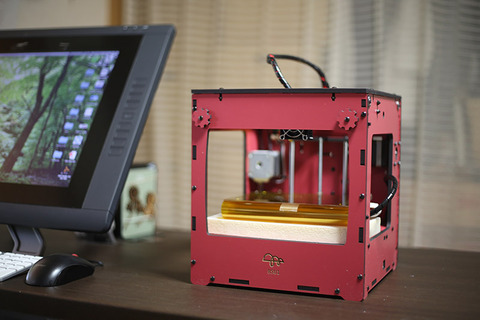 bonsai-3Dプリンター-ピンク
