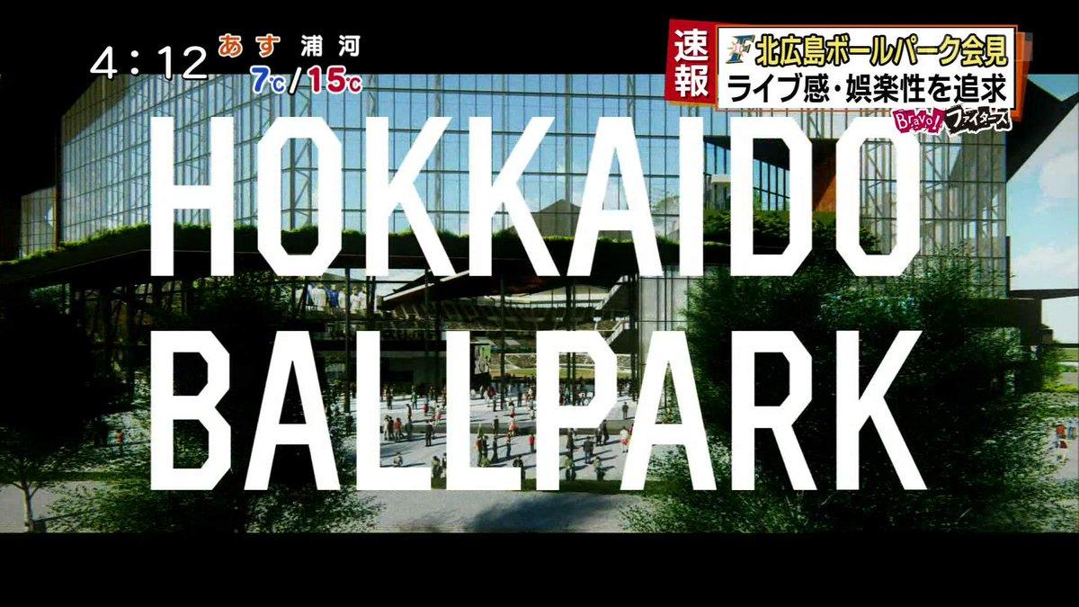 【10年100億】日本ハム新球場「命名権売却」を検討