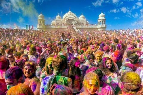 インドのホーリー祭