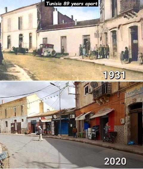 良くも悪くもチュニジアはあんまり変わってない