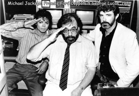 マイケル・ジャクソンとコッポラとジョージ・ルーカス