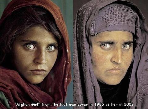 あのアフガニスタンの少女の現在。