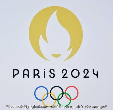 次のパリオリンピックのロゴデザインが凄いw!!