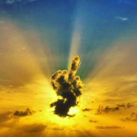 こんな世界なんてクソだ!!と神が申しております。美しい写真