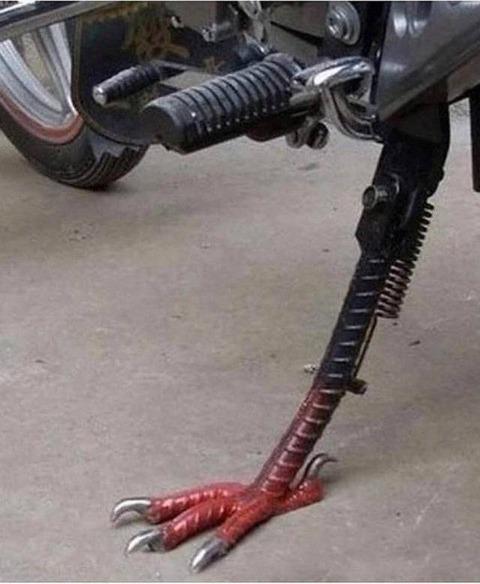 カッコイイバイクスタンド