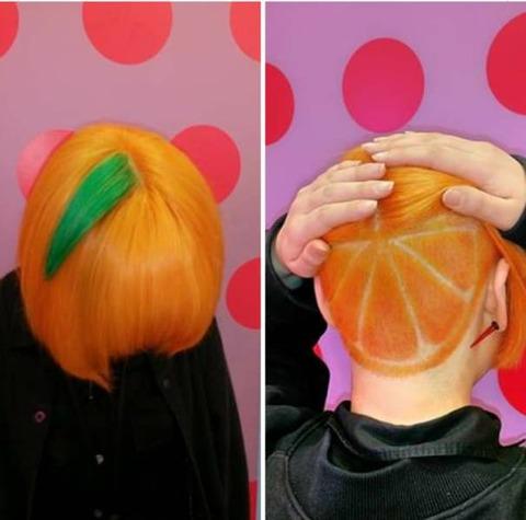 オレンジみたいな上方