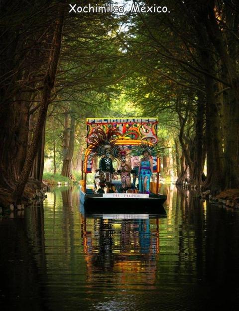 メキシコの川に流れてくるものが凄いw!