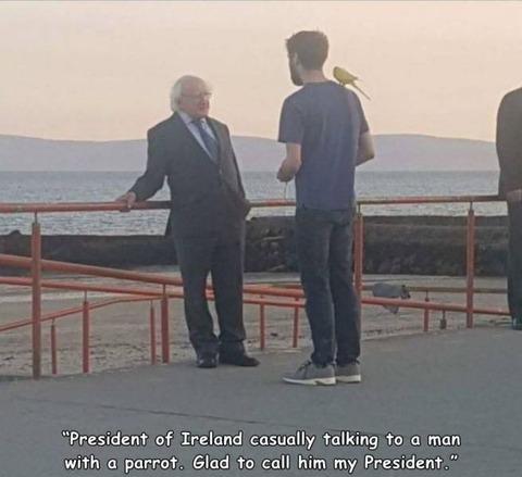マレーシアの首相とアイルランドの大統領