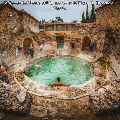 ローマのお風呂