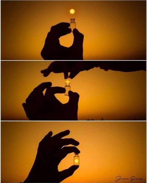 太陽を瓶に詰める方法