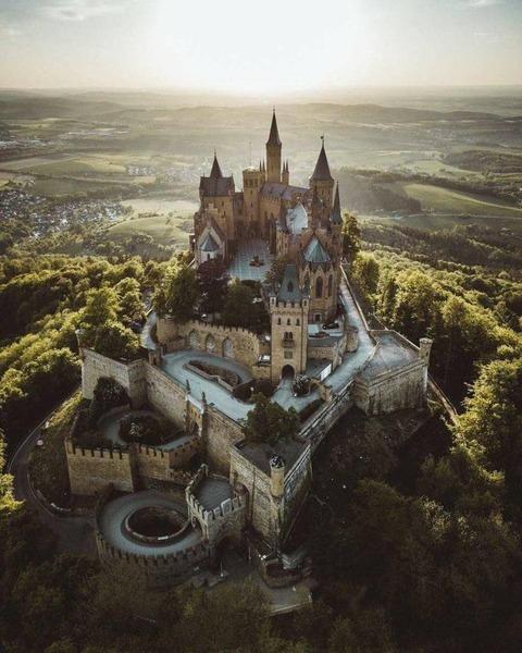 ドイツのお城がカッコイイ