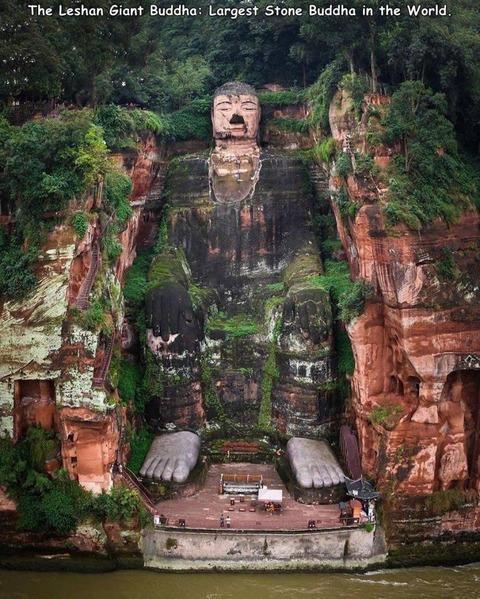 世界で一番大きな仏像