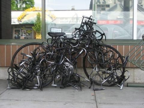 自転車を絶対に盗まれたくない時はこうする