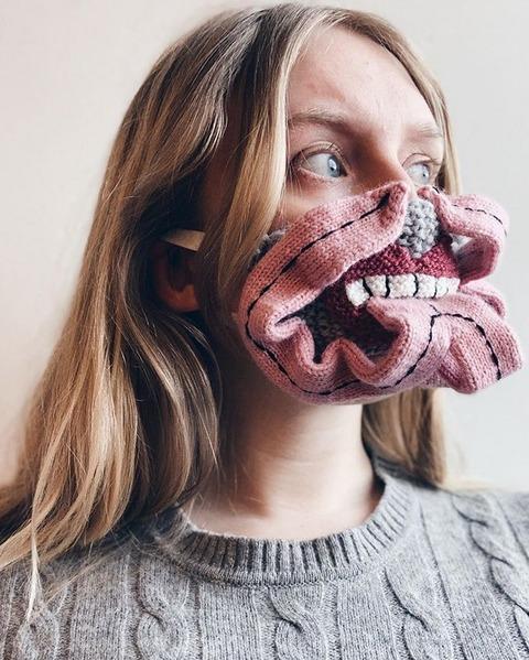独創的なマスク作家の作品 (6)