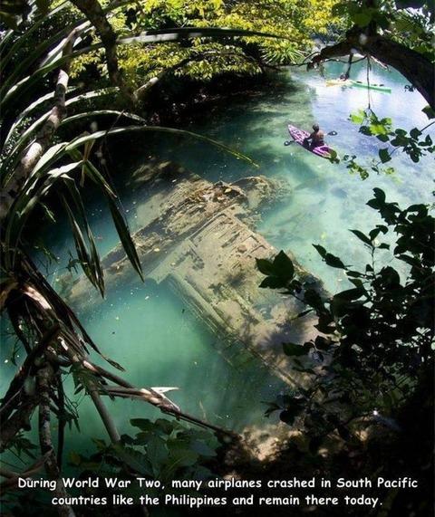 フィリピンに沈んだB29