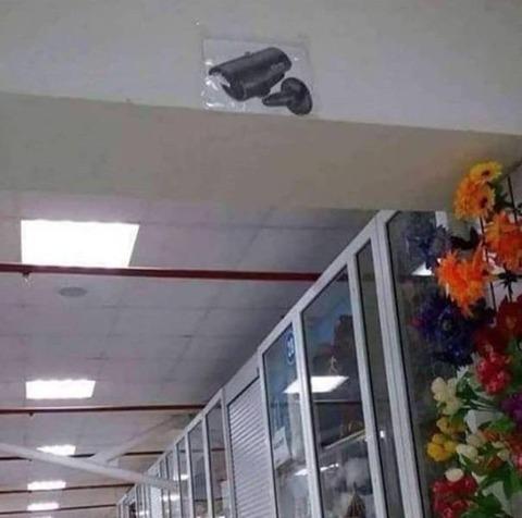 ダミーのカメラ