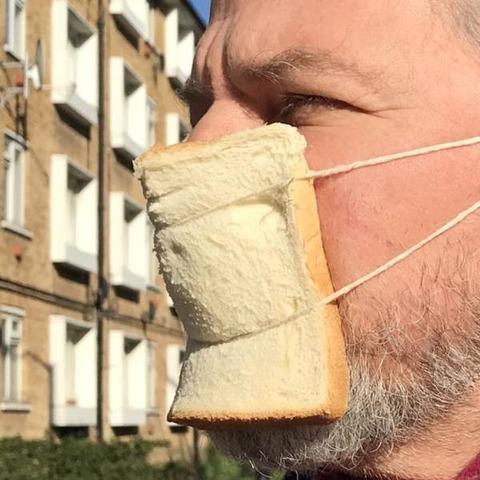 マスクが無ければパンを付ければいいじゃない