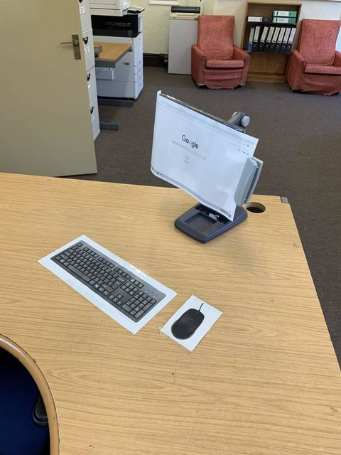 ワイヤレスのパソコン