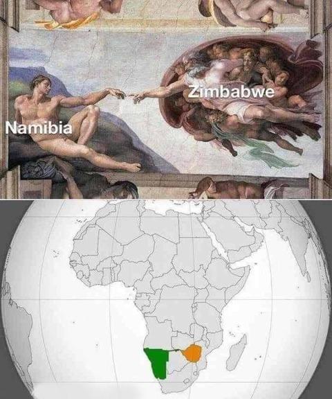 ジンバブエとナミビアの関係性