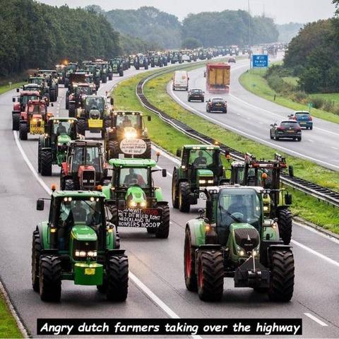 オランダの農家が怒るとこうなる
