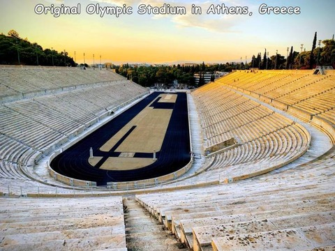 最初のオリンピックスタジアムの現在