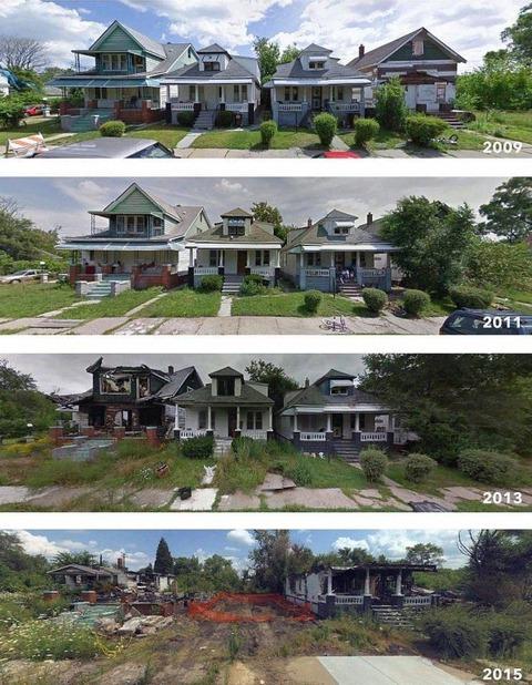 デトロイトの家5段活用