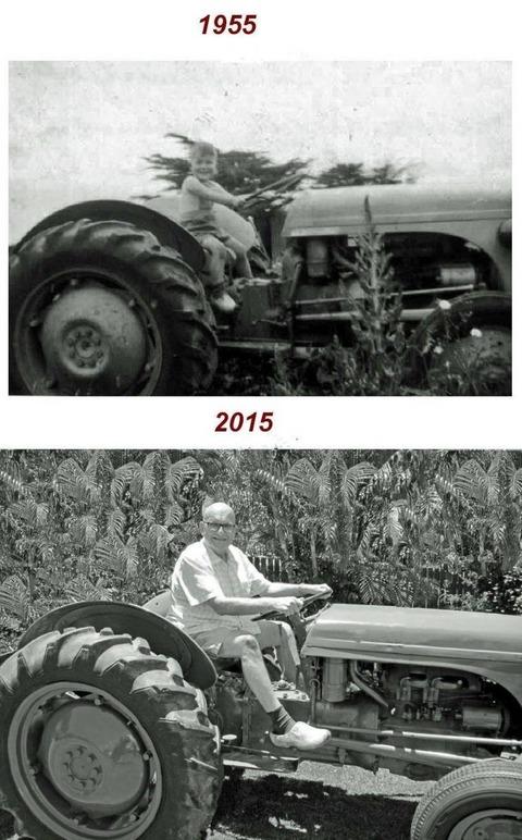 60年後の同じ写真