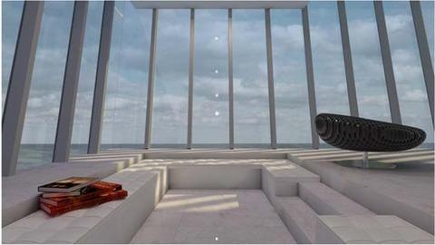 崖に作った家、クリフハウス (2)