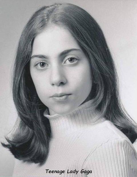 10代の頃のレディ・ガガ