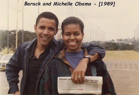 とある黒人のカップルの写真