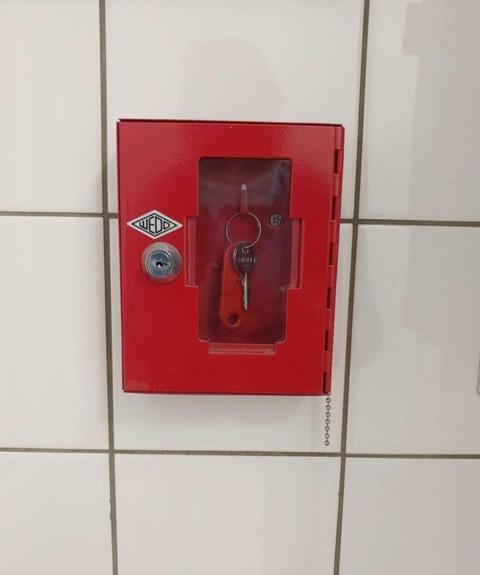 カギを開けるための鍵が欲しい。
