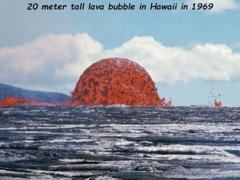 溶岩バブル